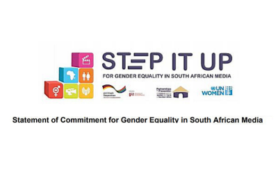 Step It Up campaign highlights the crucial role of media in fighting GBV