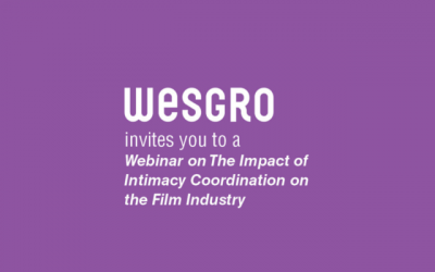 WESGRO hosts webinar on the Impact of Intimacy Coordination on the Film and Media industry