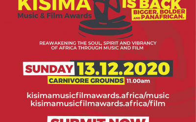 Call for entries: Kisima Music and Film Awards 2020